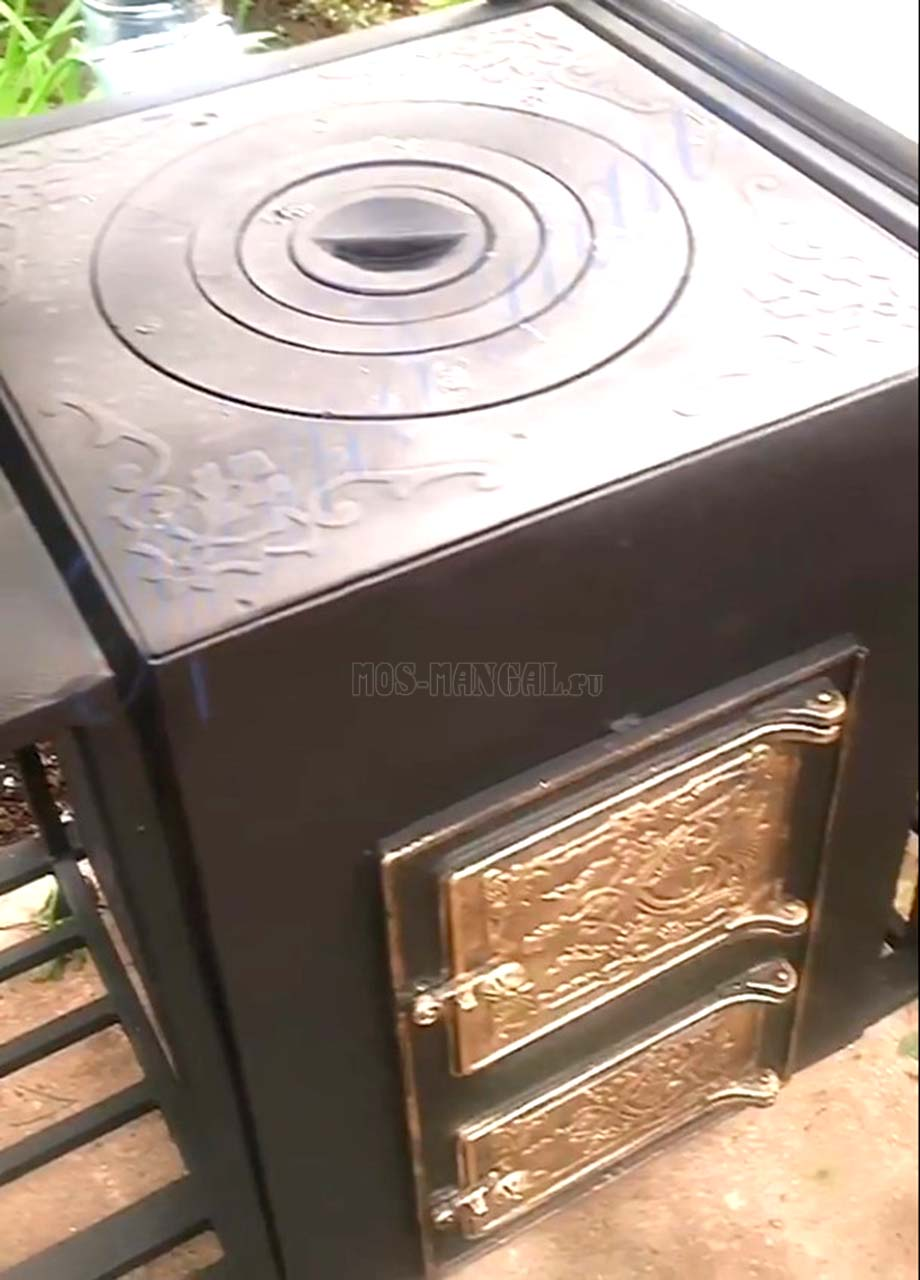 печка беседки