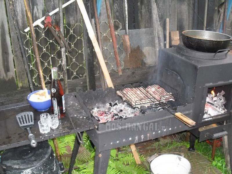 Как сварить печь на даче