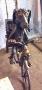 мангал Собака на велосипеде