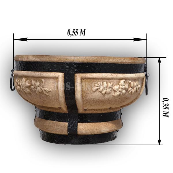 Очаг для костра 55 см