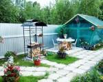 """Мангал разборный с крышей МД5 """"Природа"""""""