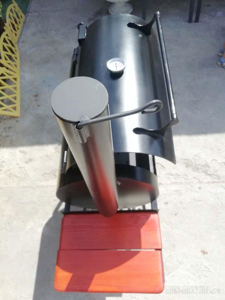 мангал-коптильня МК-4 вид сверху
