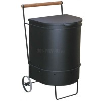 Контейнер для сжигания мусора на даче