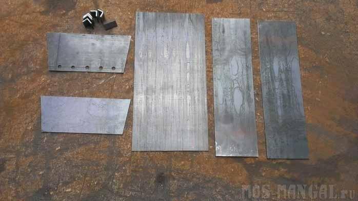 Мангал для шашлыков своими руками (14 фото)