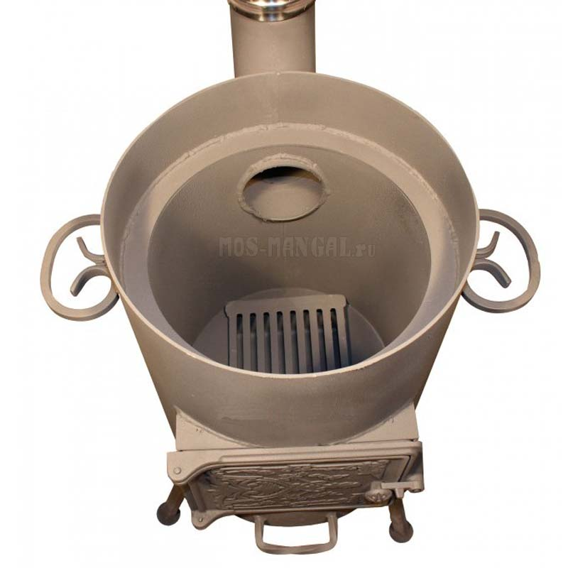 Печь для казана на 12 литров