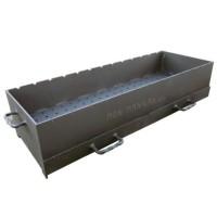 жаровня с ящиками из 5 мм стали