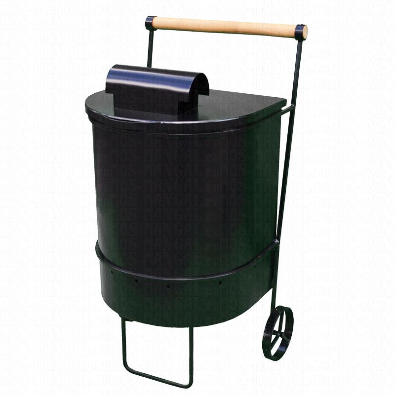 Контейнер для сжигания мусора с трубой МСЖТ