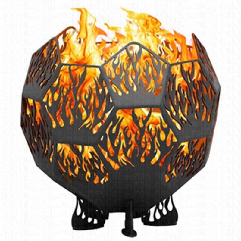 """Сфера для костра """"Пламя 60/5"""" (диаметр 60 см, сталь 5 мм)"""