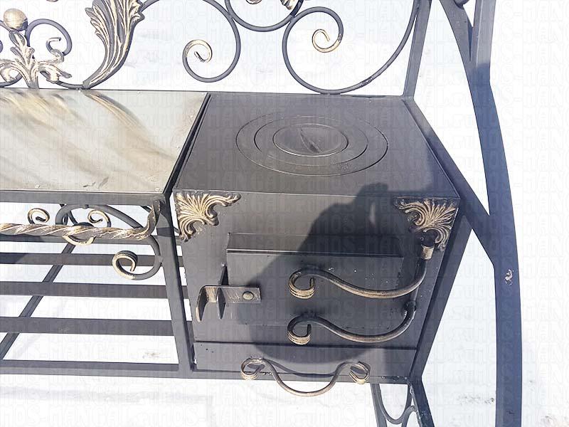печка мангала