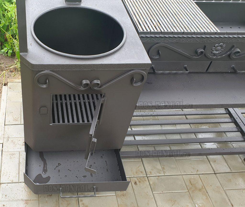 печь в мангале Шеф-повар Угловой под тандыр