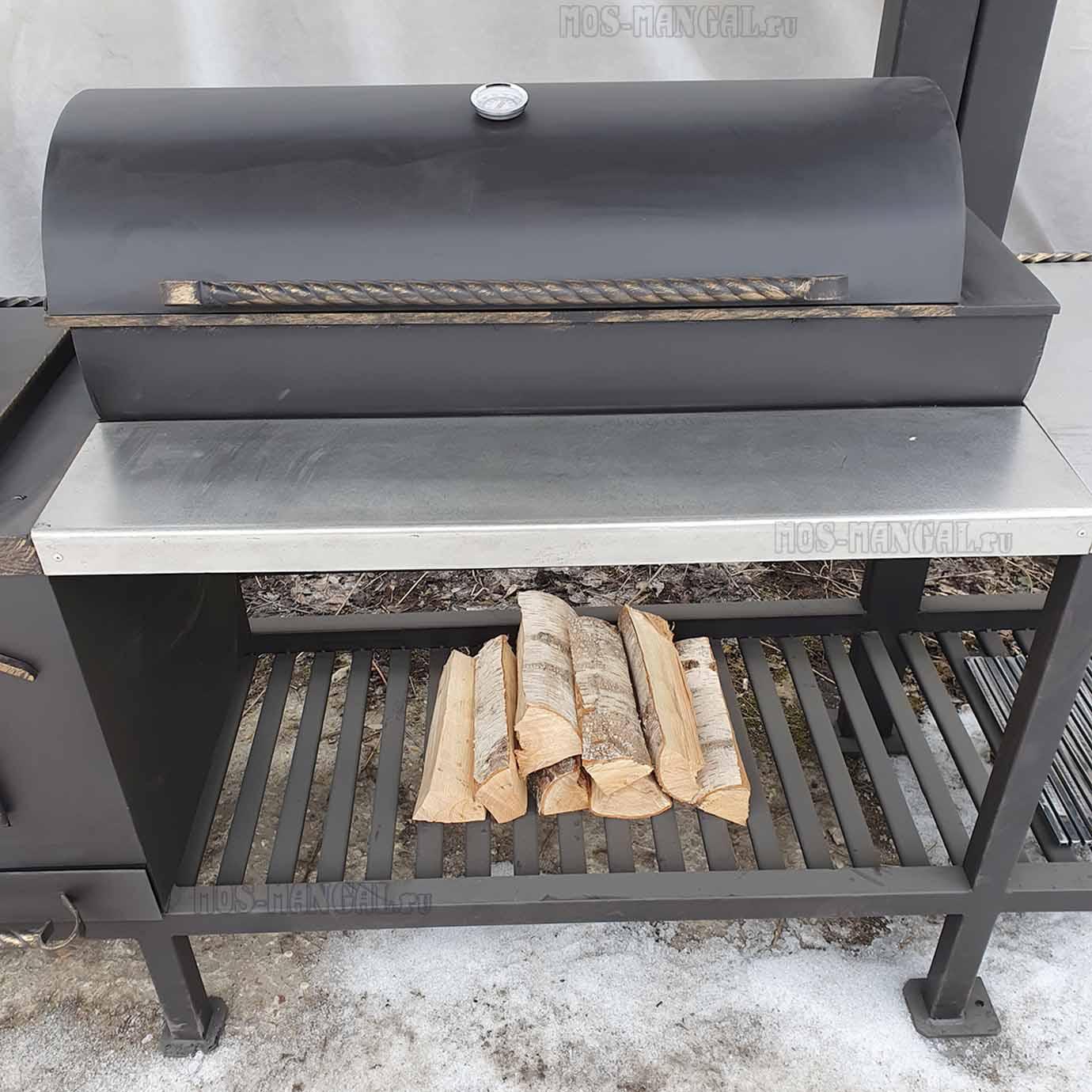 жаровня с крышкой мангала Шарм-эль-Шейх BBQ