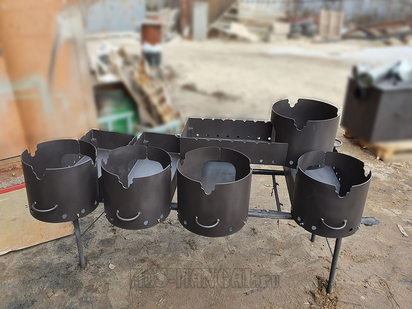 производство казан-мангала #812