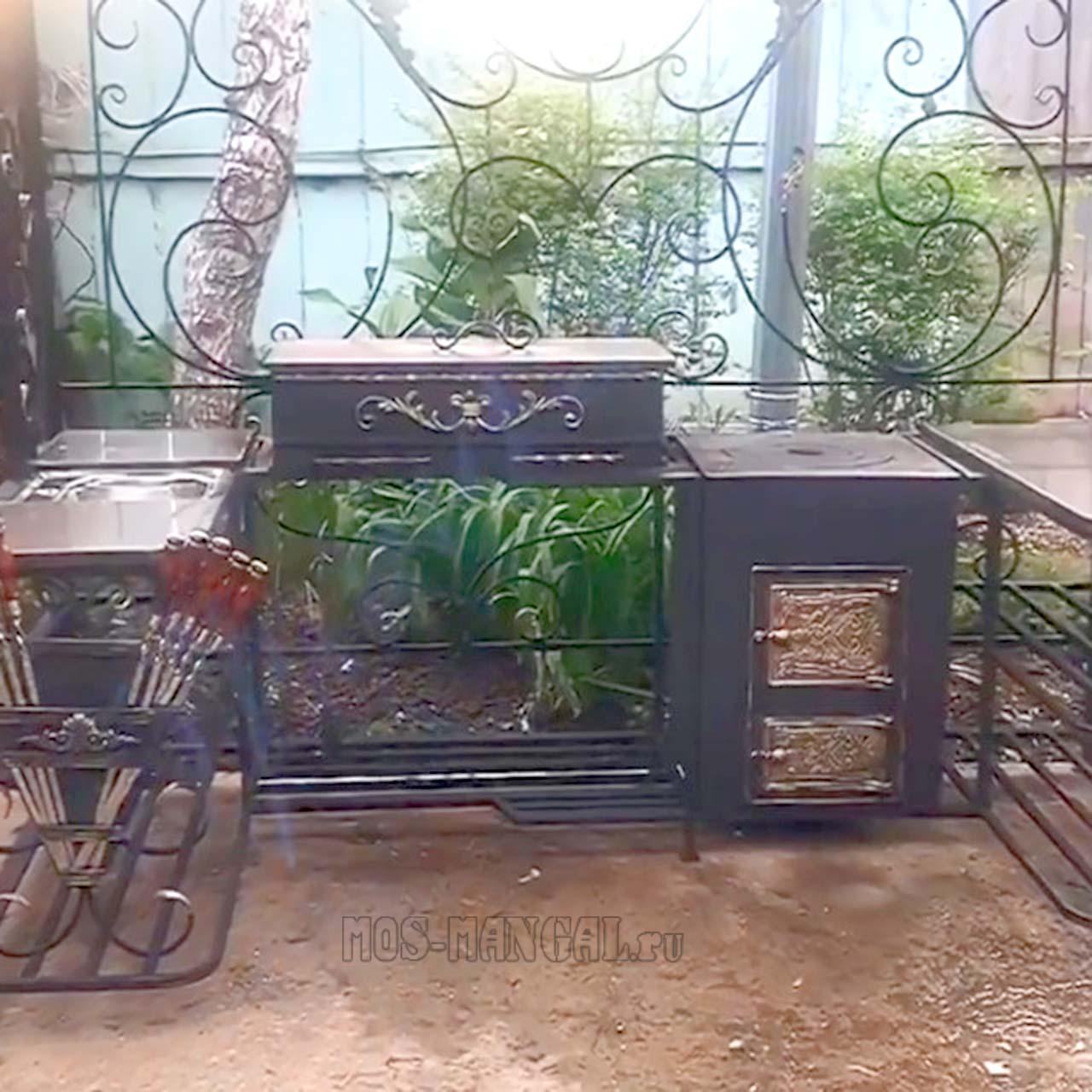 жаровня и печка