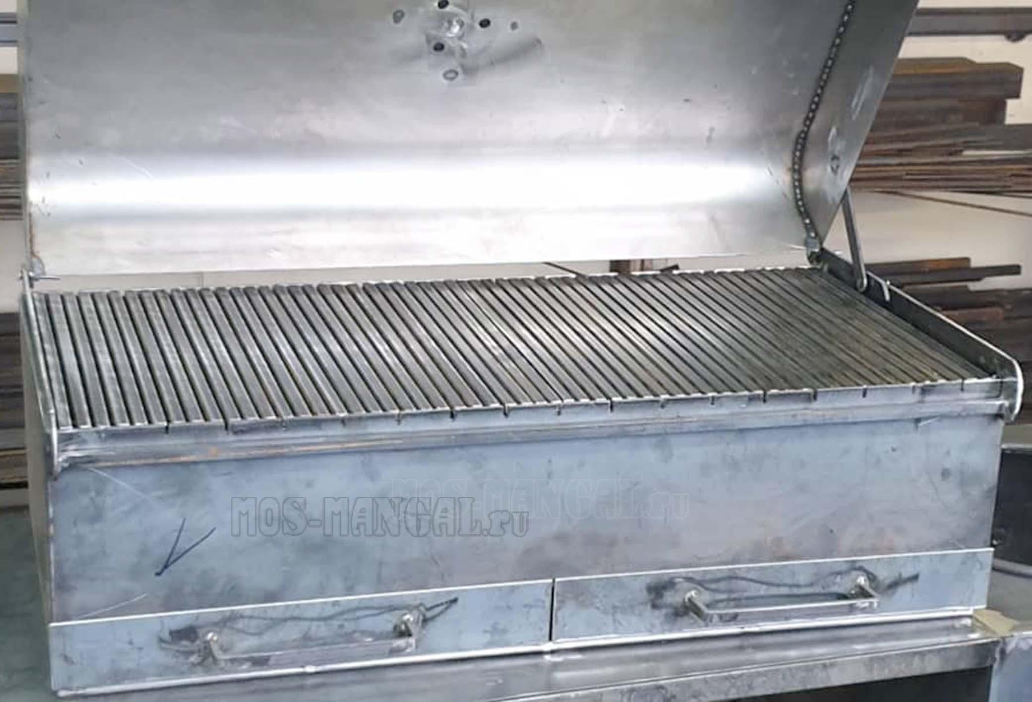 производство большой крышки для барбекю БКДБ