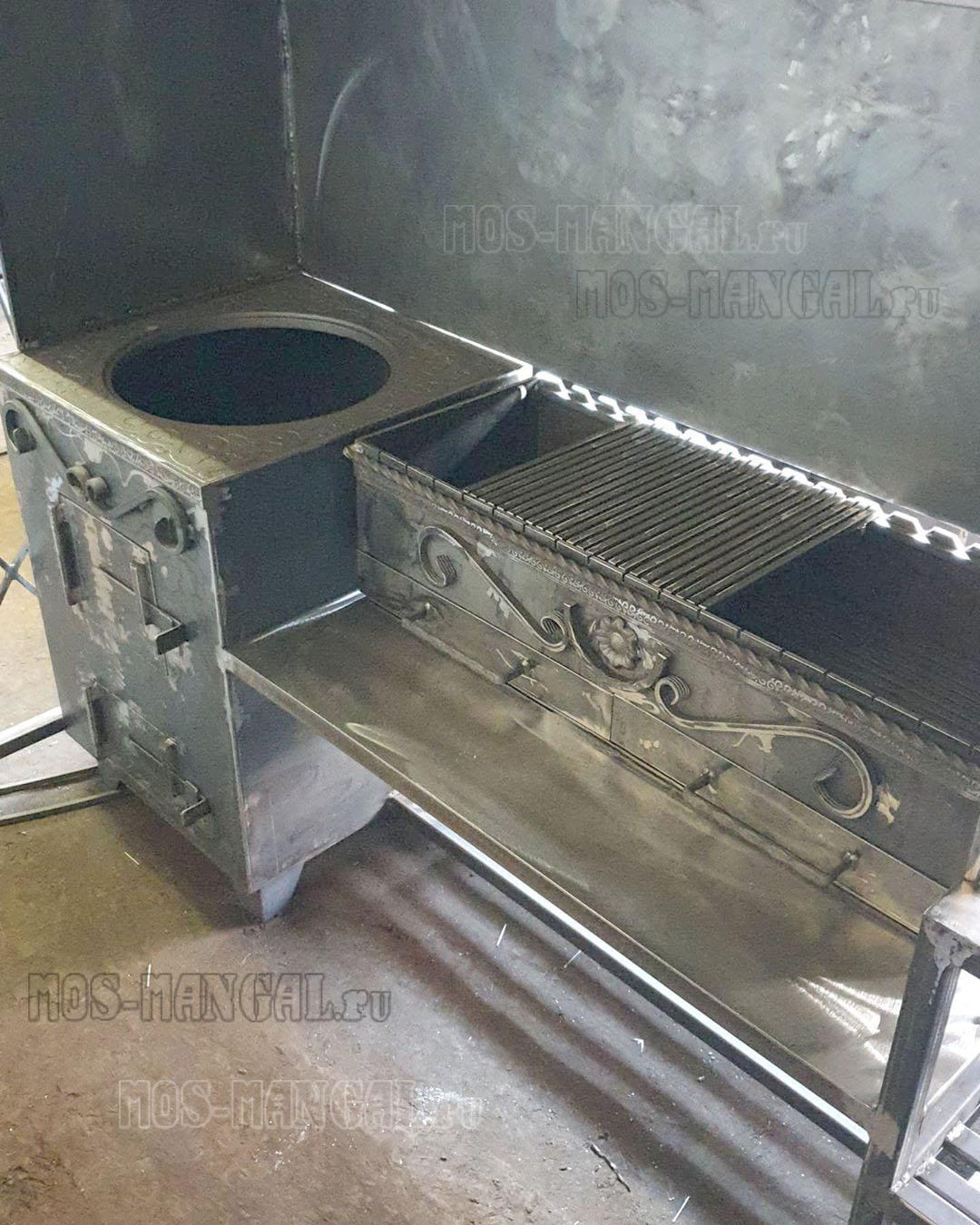 Печь и жаровня мангала
